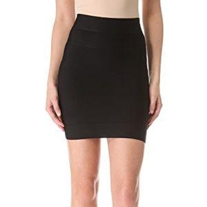 Herve Leger Black Bandage Mini Skirt Size M
